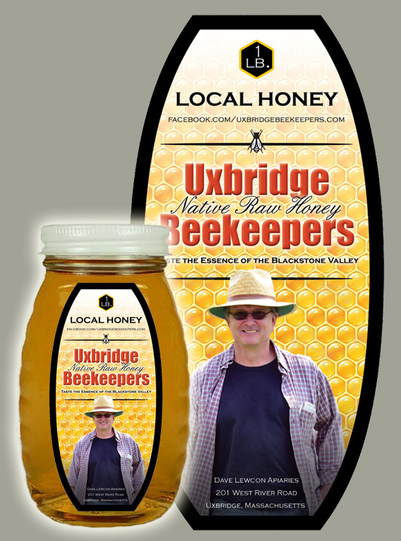 David Lewcon Apiaries Uxbridge Beekeepers Local Honey Labels