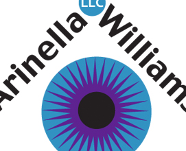 Arinella-Williams LLC Logo and postcard design