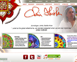 Chris Flisher web design